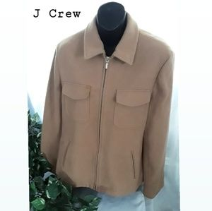 J crew wool women Jacket size Large